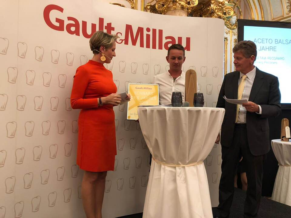 Auszeichnung Gault&Millau 2018